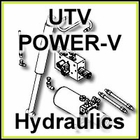 Boss UTV Power-V Plow Hydraulics