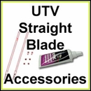 Boss UTV Straight Blade Accessories