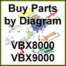 Boss VBX 8000 - VBX9000 Spreader Parts & Diagram