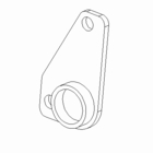 Bracket, Trip Edge, Wing Extension, Passenger Side, P/N BAR08039