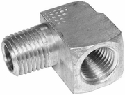 "Brass Bar Street Elbow, 1/4""  replaces Fisher 765, P/N 1304350"