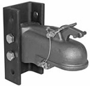 "Cast Coupler Heavy-Duty 2-5/16"" w/ 3-Position Channel & Fasteners, Buyers 0091553"