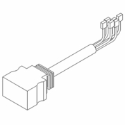 Connector, Pigtail, 11 Pin, Veh. Side, Boss MSC03752