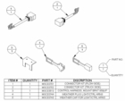 Connector, Upgrade Kit, 11 Pin, Plow + Veh. Side, Boss P/N MSC03800