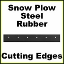 Cutting Edges, Back Drags for Western Type Snow Plows