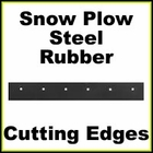 Cutting Edges for Blizzard Type Snow Plows
