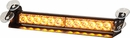 Dashboard LED Lightbar, Window Mount or Dashboard, Amber, Buyers 8891024
