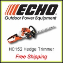 Echo HC-152 Hedge Trimmer, FREE SHIPPING