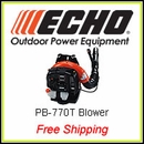 Echo PB-770T, ECHO's Most Powerful Blower, FREE SHIPPING