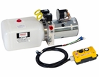 Electric 4-Way Function D.C. Hydraulic Power Unit, Buyers PU642S