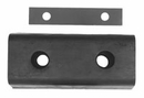 "Extruded Rubber Rectangular Bumper,  4-3/4"" x 10"" x 2-3/4, Buyers 441466"