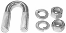 Fisher Clevis, U-Bolt w/Nuts replaces Fisher A6148, P/N 1302360