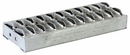 "Galvanized Steel Step, 12""W x 4-3/4"" Diamond Deck-Span Tread, Buyers 3012035"