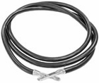 "Ground Cable, 60 "", Black, replaces Western 55984, P/N 1306330"