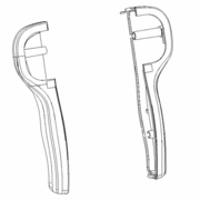 Handle, Smarttouch (R & L), Boss P/N MSC04573