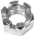 Hex Nut, Slotted, replaces Western 91472, P/N 1302215