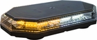 Hexagon, Amber/Clear LED Mini Lightbar, 12-24V, Buyers 8891062