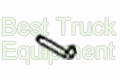 "Hitch Pin, 5/8"", Zinc Plated, TGS06, SaltDogg P/N HP6253WC1"