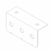 Hose Mounting Bracket, Boss P/N HYD01626
