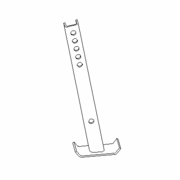 Kick Stand Leg, Sport Duty Straight Blade, RT3, Boss STB09597