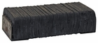 """Laminated Rubber Bumpers, (2) 10"""" x 5"""" x 2-1/2"""", Buyers B9000"""