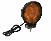 "LED Amber Utility Light, 5"", 1350 Lumens, 12-24 Volt, Buyers 1492116"