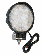 LED Clear Round Flood Light, 12 Volt, Buyers 1492114