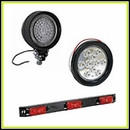 LED Lights, Flood, Work, Side Markers, Tail Lights, Back-Up Lights