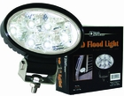 LED Oval Flood Light, 12-24 VDC, Buyers 1492113