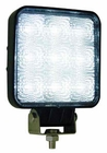 "LED Square Flood Light, 6.6"", 1500 Lumen, 12-24 Volt, Buyers 1492119"