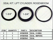 Lift Cylinder Rosenboom Seal Kit,  P/N HYD01645