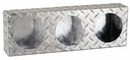 "Light Box,  Diamond Tread Aluminum, Triple Round 4"" Lights, Buyers LB6183ALDT"