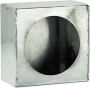 "Light Box, Stainless Steel, Round 4"" Lights, Buyers LB663SST"