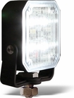 Light, Flood, 12-24 Vdc, 4 Led, Clear, Square, Buyers 1492136