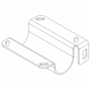 Lightbar Mounting Bracket, 2008+,DS, Boss P/N MSC11109-03