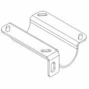 Lightbar Mounting Bracket, 2008+,PS, Boss MSC11110-03