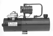 Manual 4-Way Valve D.C. Hydraulic Power Unit w/2.2 Gallon Reservoir, Buyers PU310LR