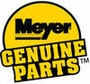 "Meyer A Solenoid New Style 5/8"" Stem, Coil & Valve, Blk Wire, P/N 15661C"