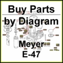Meyer E-47 Hydraulic Pump Parts Diagram