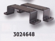 Modular Mount, Bracket, Flat Narrow Surface, Adjustable Width, Buyers 3024648