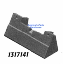 "Moldboard Plow Shoe, Universal, Cast, 8"", Replaces Gledhill 15647-C, Buyers SAM 1317141"