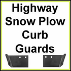 Municipal Highway Snow Plow Curb Guards