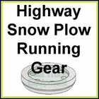 Municipal Highway Snow Plow Running Gear Assembly & Parts