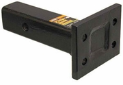 """Pintle Hook Mount 1 Position, 2"""" Receiver, 4"""" Plate, 8"""" Shank, Buyers PM84"""