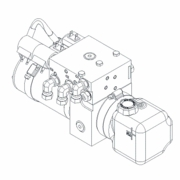 Power Unit, STB, ATV/UTV, Boss HYD13620