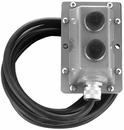 Push Button Box Wired - 2 Buttons W/2 Terminals Each , P/N BPL2717