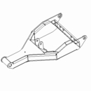 Pushframe Assembly, RT3 V,06+,  Boss P/N TFR09708-03
