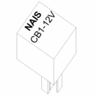 Relay, 12V, Boss P/N MSC04294