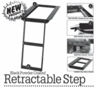 Retractable Truck Step, 2-Rung, Buyers 5232000