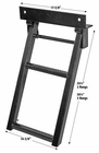 Retractable Truck Step, 2 Rungs, Buyers RS2